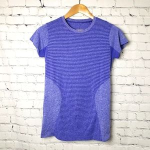New Balance Purple Seamless Running Top Woekout